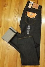 MEN LEVI'S ORIGINAL FIT 501 SELVEDGE JEANS 005012005 SHRINK-TO-FIT SZ 30X32 $118