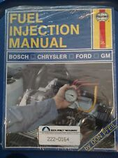Haynes 482- Fuel Injection Manual - Bosch - Chrysler - Ford - GM - NEW!!