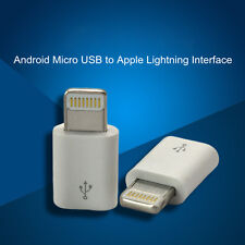 10x Android Micro USB Female to 8 Pin Apple iPhone 5 6 6S Plus Lightning Adapter