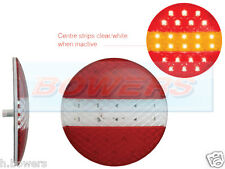 12V/24V 140mm ROUND LED SLIM SLIMLINE COMBINATION HAMBURGER REAR TAIL LIGHT LAMP