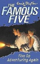 Five Go Adventuring Again by Enid Blyton (Paperback) New Book