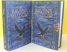 THE RAVEN'S SHADOW -Elspeth Cooper- HARDCOVER ~ NEW