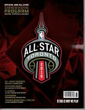NBA ALL STAR GAME PROGRAM 2016 COMMEMORATIVE TORONTO LIMITED KOBE LEBRON CURRY