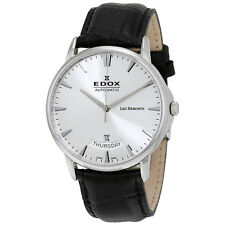 Edox Les Bemonts Automatic Mens Watch 83015 3 BIN