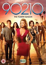 90210 COMPLETE SERIES 4 DVD BOX SET Season All Episodes New Sealed UK Release