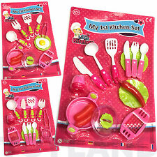 MY 1ST KITCHEN LITTLE COOK SET ROLE PLAY TOY GIRL BIRTHDAY PARTY BAG FILLER LOOT