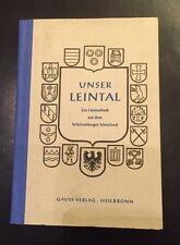 Unser Leintal - Ein Heimatbuch Württemberg 1951 ..