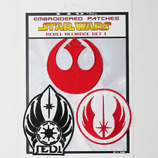 "STAR WARS ""Rebel Alliance"" Iron-On Patch Super Set #006 - FREE POSTAGE!"