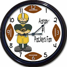 Green Bay Packers Personalized Custom Clock NFL Football Green Bay WI Rodgers