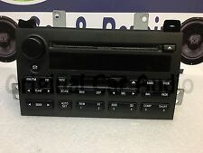 03-2005 Lincoln Town Car Sound Mark RDS Tape CD Player Radio 3W1T-18C868-AK