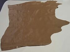 LEATHER COW HIDE TAN BEIGE ANTIQUE AV 25 SQ. FT. UPHOLSTERY COWHIDES TS-2175