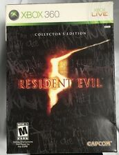 Resident Evil 5 Limited Collectors Edition (Xbox 360) - Capcom Complete
