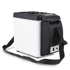 Portable Car Fridge 7L Travel Camp 12V Refrigerator Cooler Warmer w/ Cup Holder