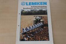 158079) Lemken EuroDiamant VariDiamant Prospekt 10/1999