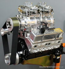 383ci Small Block Chevy Engine 620HP / 620TQ Blown Complete Built-To-Order