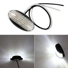 White Side Marker Light Truck Clearance Lights Trailer Piranha LED Lamp 10-30V