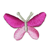 Butterfly Iron On Applique x 5