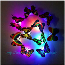 7 Colour Changing LED Butterfly Bedside Night Light bedRoom Xmas Decorate Lamp