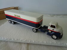 ERTL DIE-CAST 1/64 1950 CHEVY TRACTOR U.S.MAILTRAILER WITH COIN SLOT