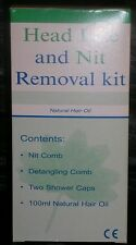 Head Lice & Nit Removal Kit - CE Marked - All Natural Aromatherapy Product