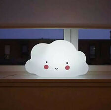 Night Light Children Toy Bedroom Nursery Lamp Cloud Shape With Batteries NEWEST