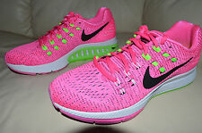 New Nike Womens Air Zoom Structure 19 Running Shoes 806584-600 sz 7 Pink Blast