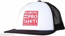 Billabong Poster Tahiti Pro Snap Back Trucker Cap. One Size. NWT, RRP$19.99