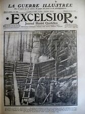 WW1 FORTIN POILU SNIPPER PRISE DE GIVENCHY ALBERT MALINES EXCELSIOR 21/03/1915