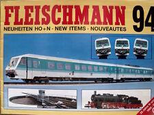Catalogo FLEISCHMANN 1994 novità - DEU ENG FRA  [TR.4]