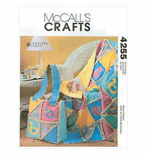SEWING PATTERN~ McCall's 4255~ Baby~PATCHWORK RAG QUILT~DIAPER BAG~NEW