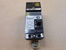 1 USED SQUARE D FA FA26020AC CIRCUIT BREAKER I-LINE 20A 20 AMP 2P 600V GRAY