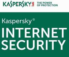 Kaspersky Internet Security 2017 PC 1 User For 1 Year Latest Antivirus
