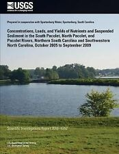 Concentrations, Loads, and Yields of Nutrients and Suspended Sediment in the...