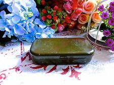 MILITARY METAL BOX - GREEN ARMY SMALL METAL BOX - MILITARY STEEL SMALL BOX 2