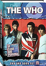 The Who : Up Close and Personal - DVD and 72 Page Book Set - NEW SEALED