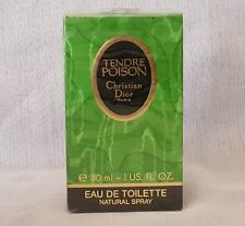 TENDRE POISON CHRISTIAN DIOR eau de toilette  30ml spray, descatalogada  rare
