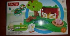 fisher price little people pond and pig set