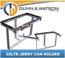 20Ltr Jerry Can Holder Galvanised - Camper Trailer, Caravan, 4x4