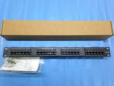 Cat5e Cat5 UTP 24 Port Network Cabinets Panel 110 type 1U 19inch RACK MOUNT MAAU
