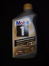 Mobil 1 Extended Performance 0w20 0w-20 Synthetic Motor Oil 1qt