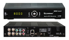 NEW LINKBOX 9000i HD LOCAL FTA / IPTV Satellite Receiver, USA Authorized Dealer