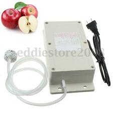AC220V Ozone Generator + Pipe For Air Food Vegetable Water Aquarium Cleaning New