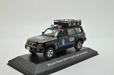 Nissan Patrol 2005 Hong Kong Police SDU J-Collection 1/43