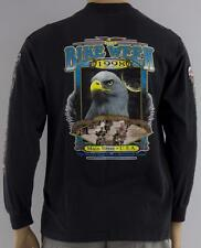 Bike Week 1998 - Finnegan's Beachside Pub - Crew Neck L/S Biker Pocket Tee - Lge