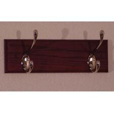 """Wooden Mallet 2 Hook Coat Rack- HCR-2NMH Coat Rack 12"""" x 3.5"""" x 4.5"""" NEW"""
