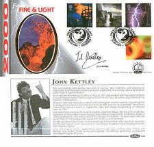 1 FEBRUARY 2000 FIRE AND LIGHT BENHAM BLCS 174b FDC SIGNED BY JOHN KETTLEY