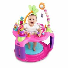 Girls Baby Bouncer Adjustable Activity Jumper Infant Toy Walker Learning Seat