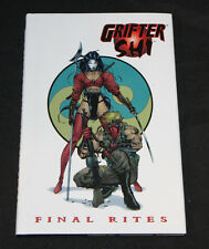 1996 Grifter Shi Final Rites Graphic Novel Hardcover VF-NM