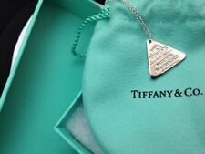 Tiffany & Co Nike 2013 San Francisco Marathon Necklace with pendant/Pouch/Box