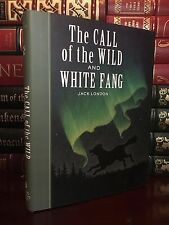 Call of the Wild & White Fang Jack London New Illustrated Hardcover Unabridged